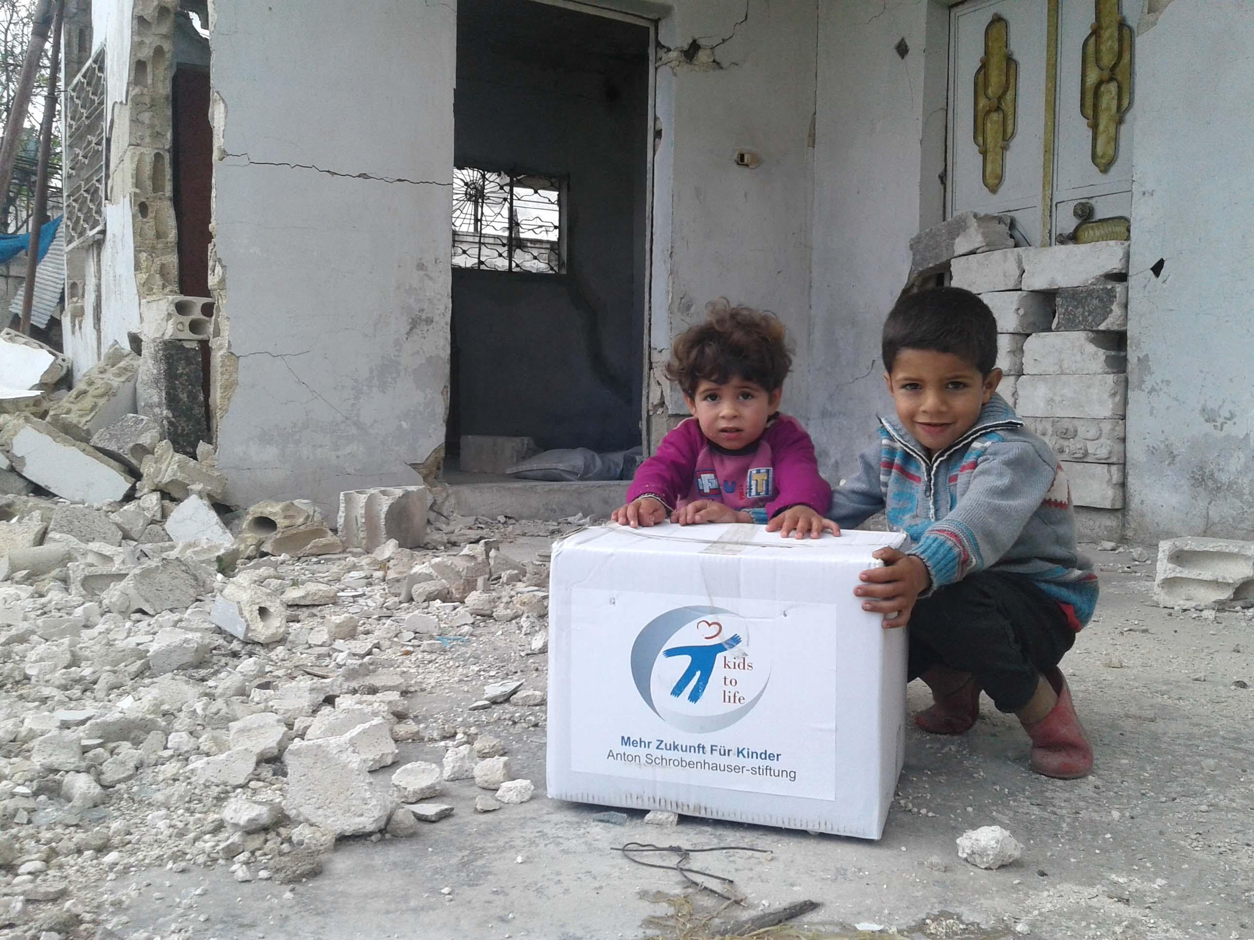 Nothilfe für Syrien