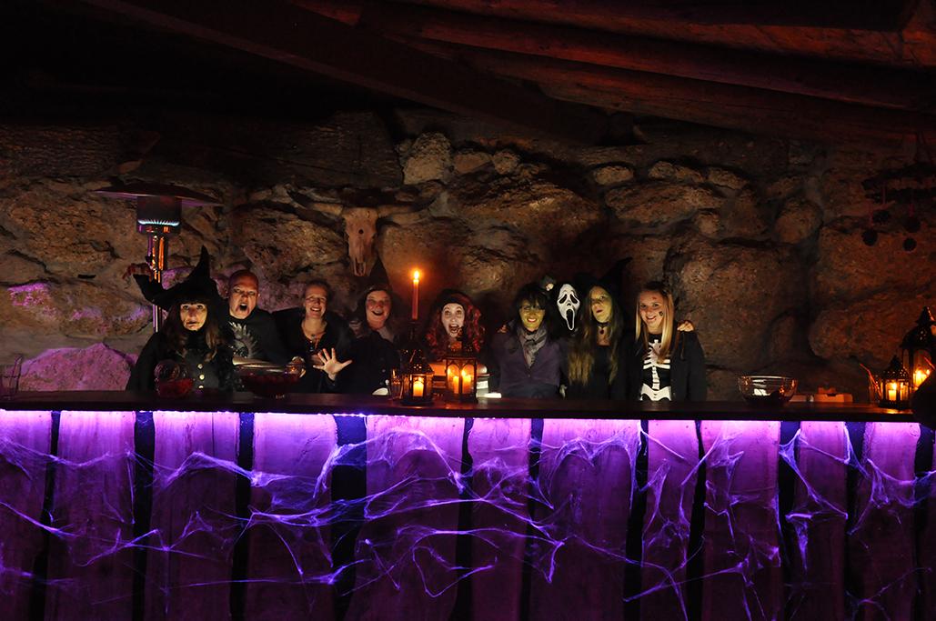 Halloween Party auf dem kids Gelände