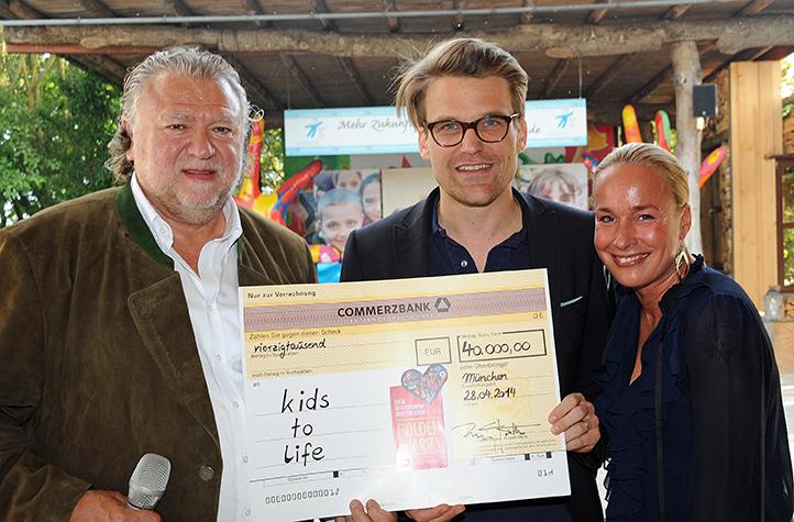 Golden charity – 150 goldene Schallplatten zugunsten von kids to life