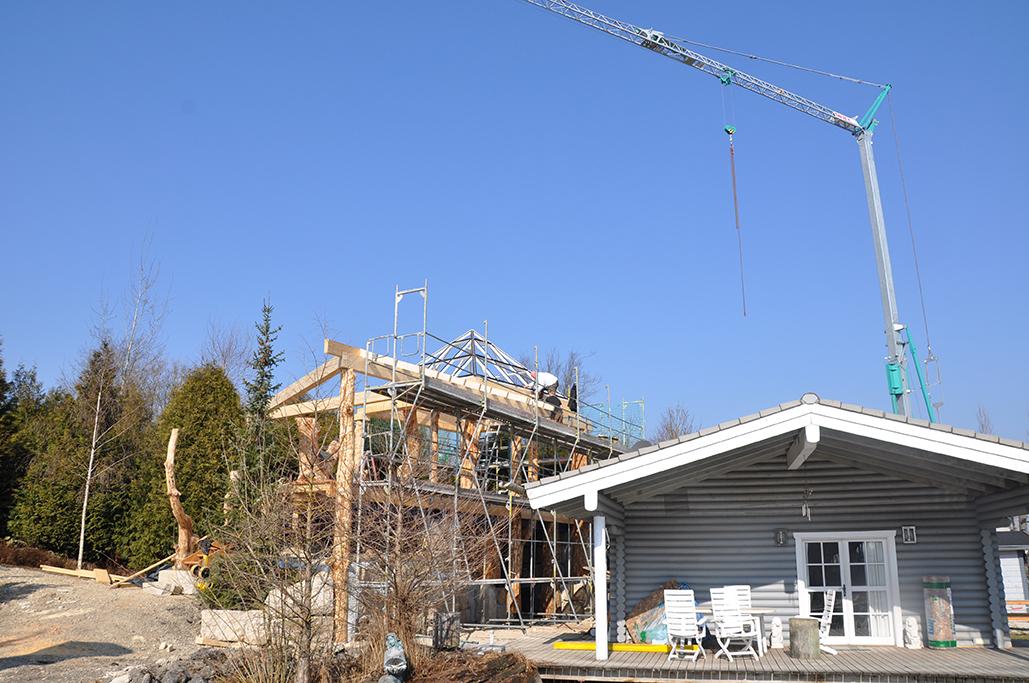 Der Fortschritt bei unserem Baumhaus