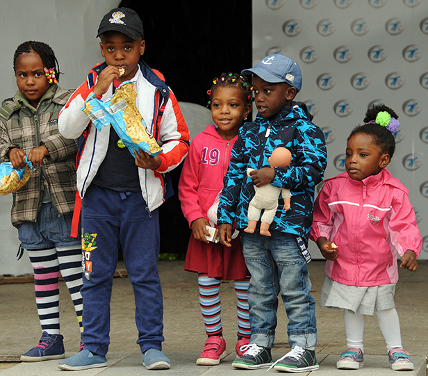 Großes Fest für die ganz Kleinen – Eine Aktion für Flüchtlingsfamilien in München