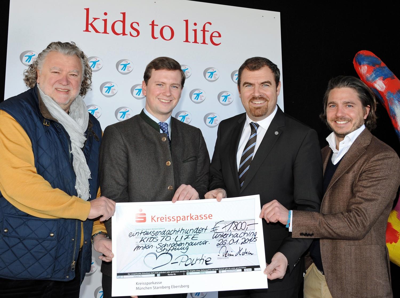 """""""Herzpartie e. V."""" spendet 1.800,- Euro an kids to life"""