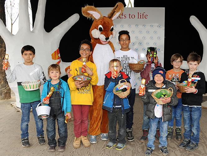 Unser Osterfest mit den Münchner Kinderheimen