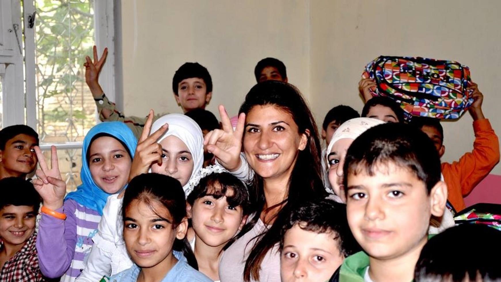 Unterstützung syrischer Schulen in der Türkei