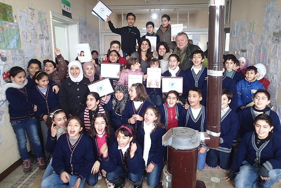 Bildungsmaßnahmen für syrische Flüchtlinge