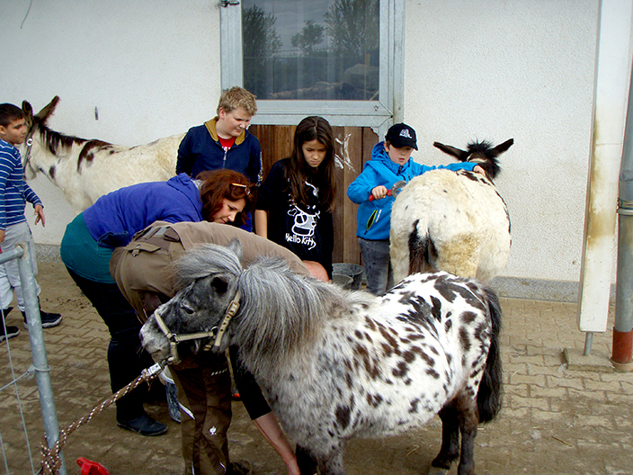 Besuch der Hachinger Talschule