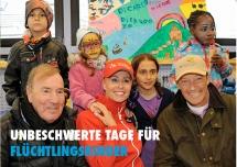 Unbeschwerte Stunden für Flüchtlingskinder