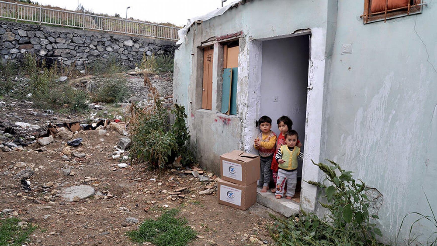 1.800 Überlebenspakete für Syrien und die Türkei