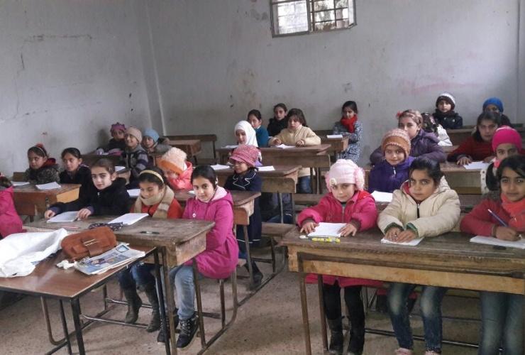 kids to life unterstützt neugegründete Schule in Idlib/Syrien