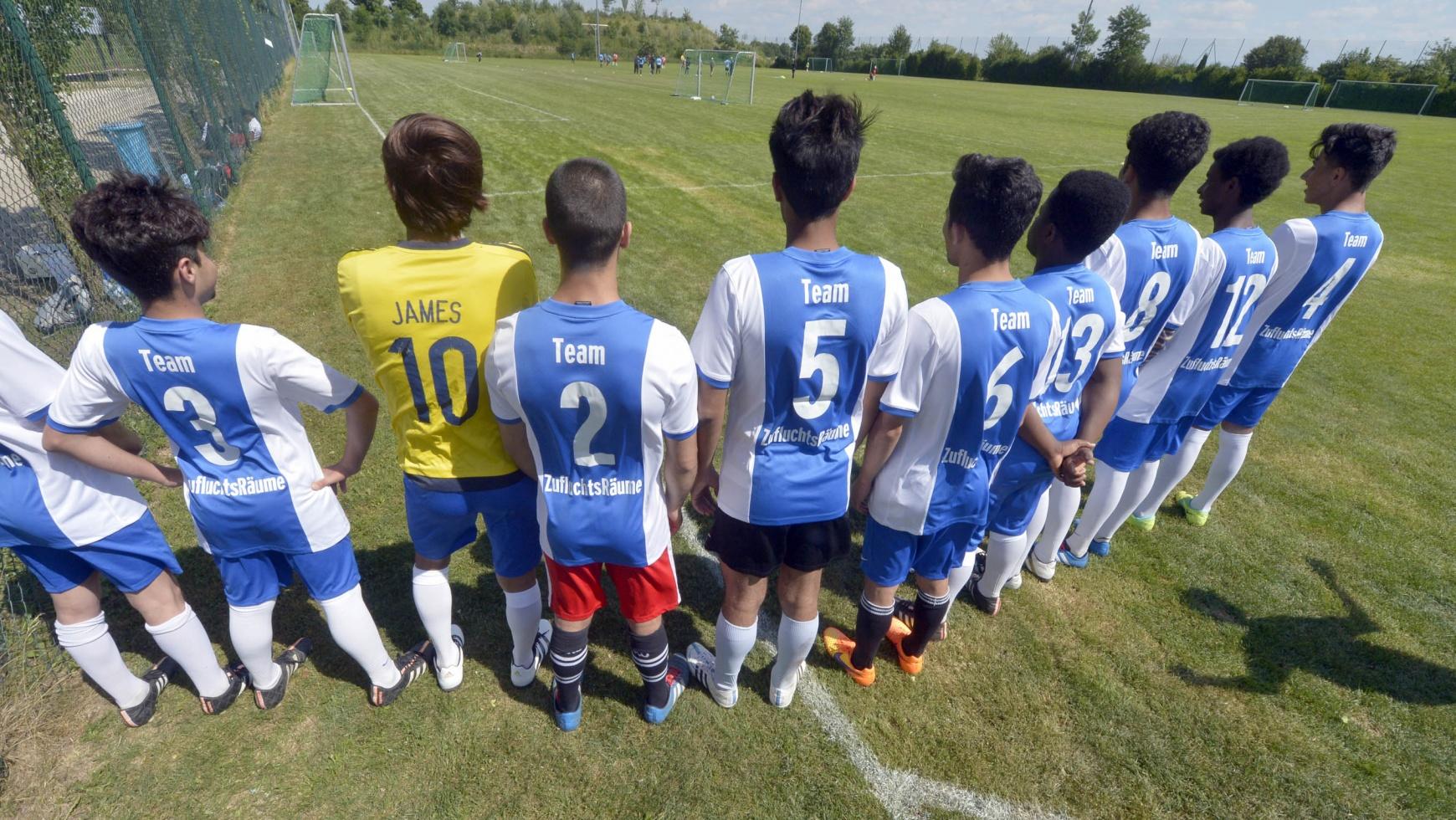 Erstes Fußballturnier der Münchner Jugendhilfe