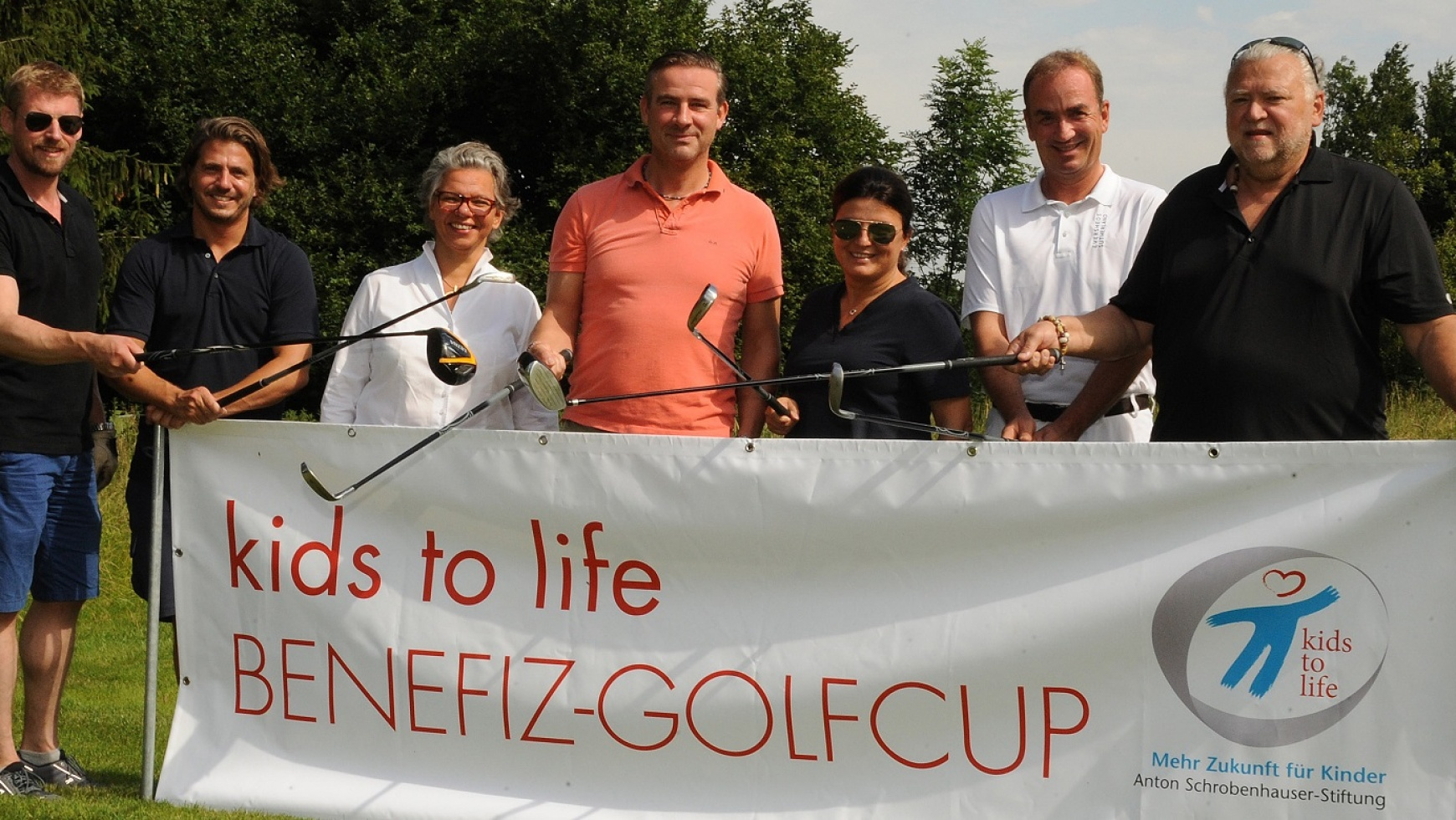 kids to life Charity-Golfcup und Benefizabend