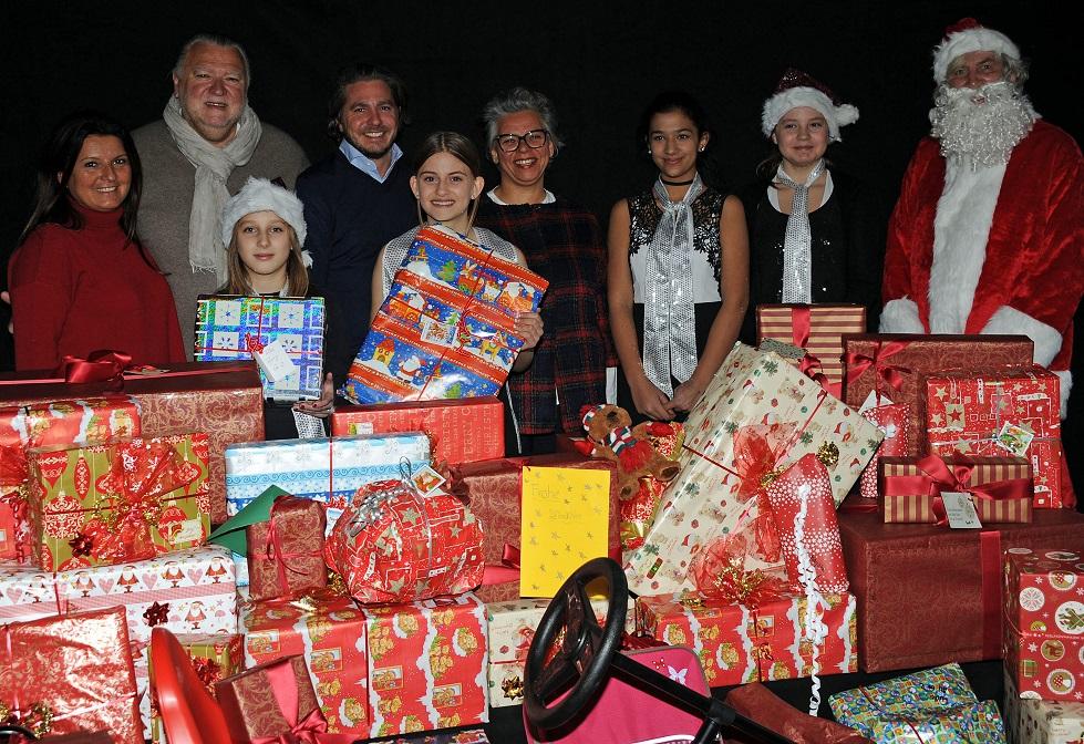 Geschenke für Münchner Heimkinder