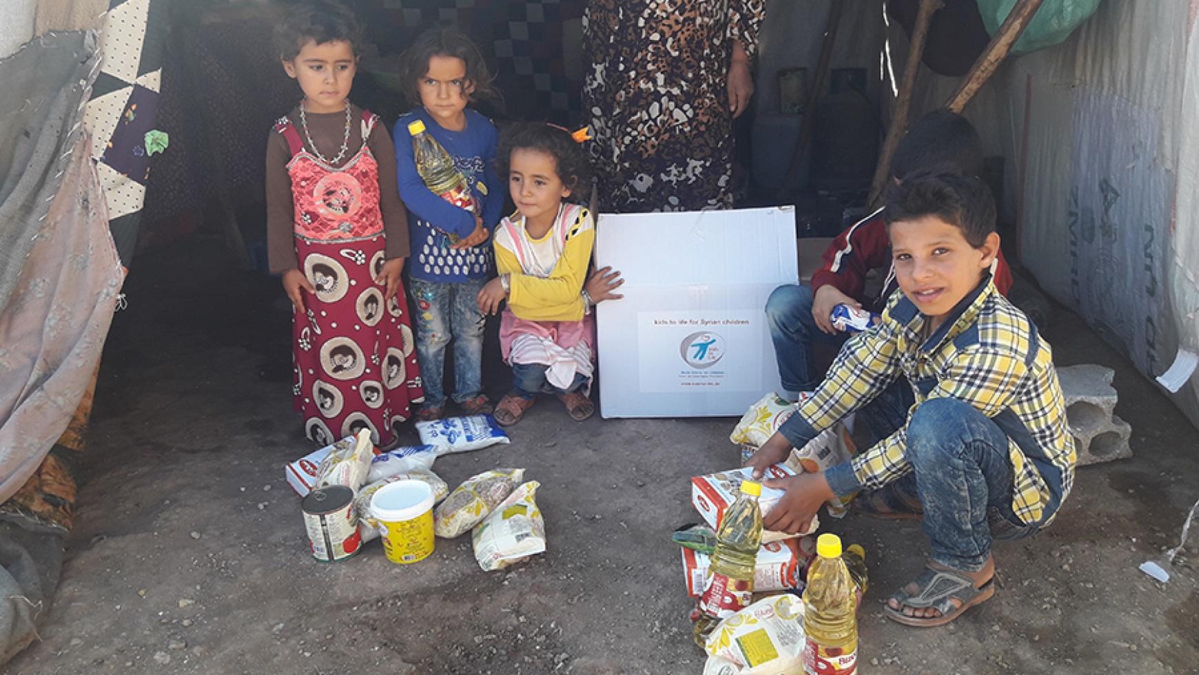 2.400 Überlebenspakete in Idlip, Aleppo und Hama verteilt