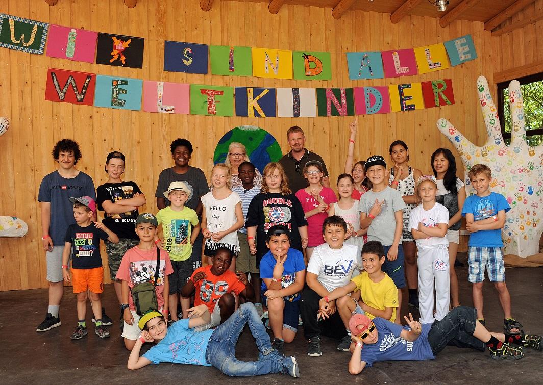 Großes Kindersommerfest bei kids to life