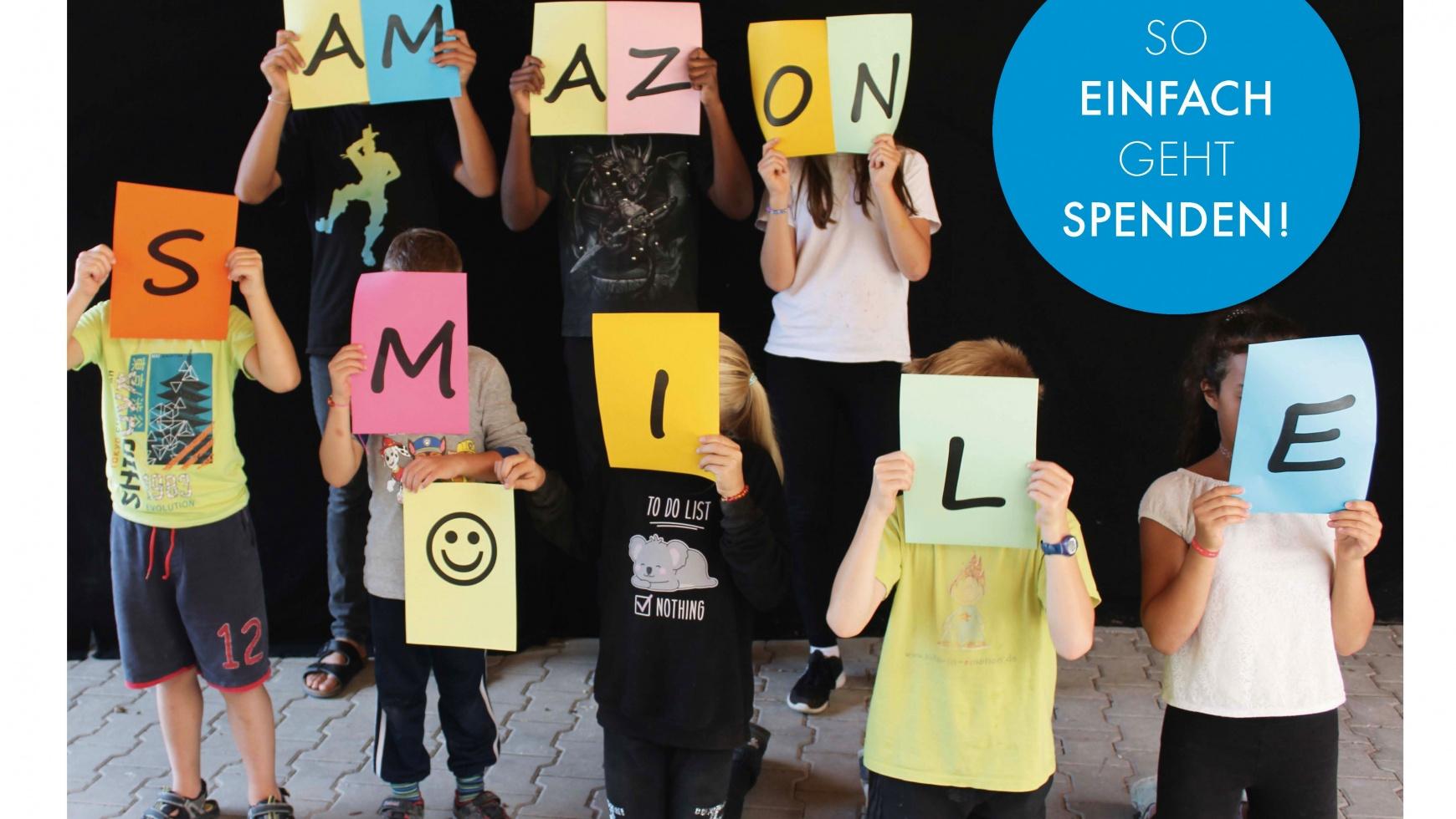 EINKAUFEN UND SPENDEN – MIT AMAZON SMILE