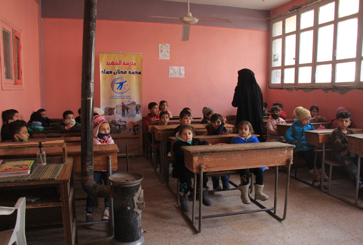 Schulbildung für Kinder in Syrien – Hilfe zur Selbsthilfe