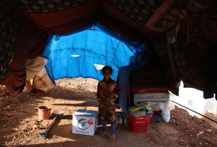 """kids to life kümmert sich um Syriens vergessene Kinder –  BILD hilft e.V. """"Ein Herz für Kinder"""" macht Hilfslieferung möglich"""